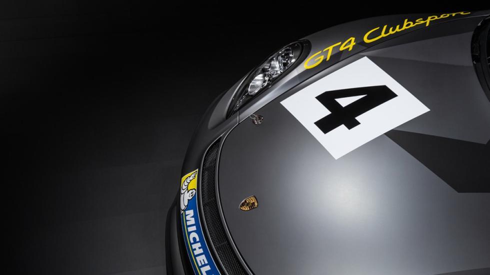 Porsche Cayman GT4 Clubsport capo