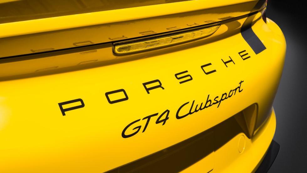 Porsche Cayman GT4 Clubsport detalle