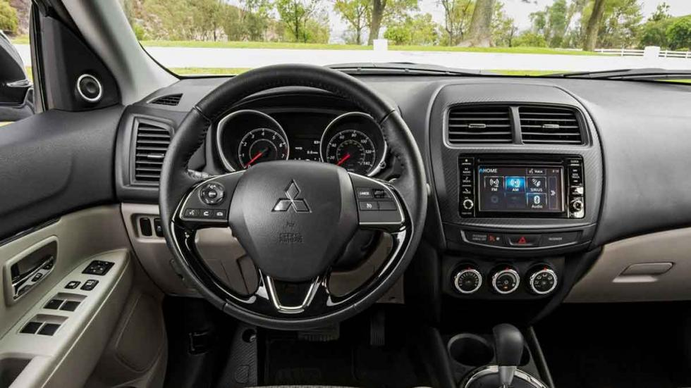 Mitsubishi Outlander Sport 2016 interior
