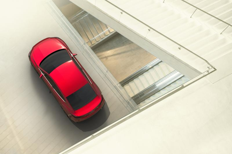 Subaru Impreza Sedan concept aérea