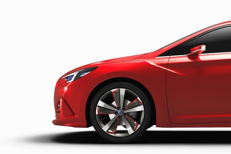 Subaru Impreza Sedan concept detalle