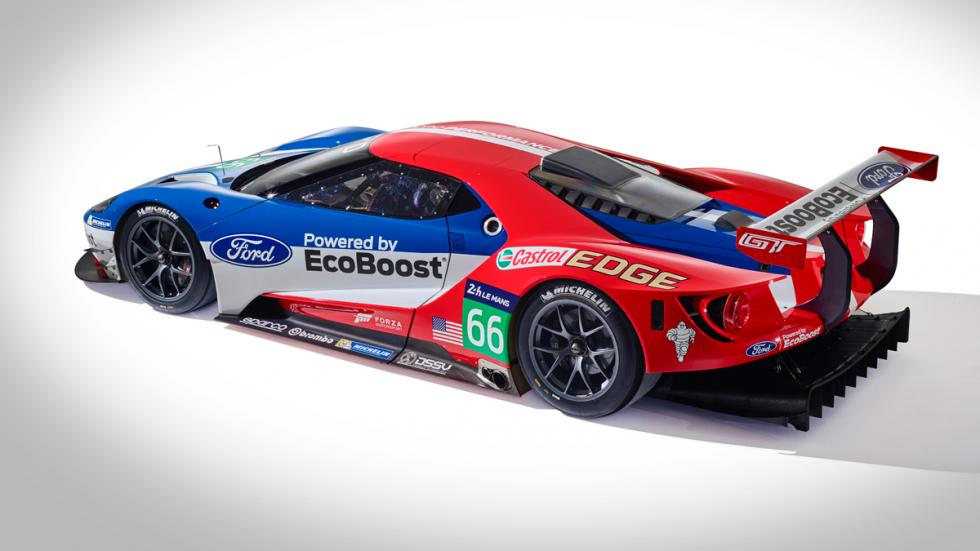 Ford GT GTE lateral
