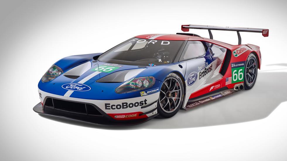 Ford GT GTE estudio