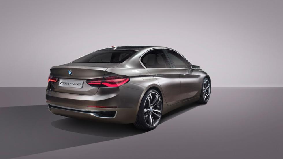 BMW Compact Sedan Concept trasera