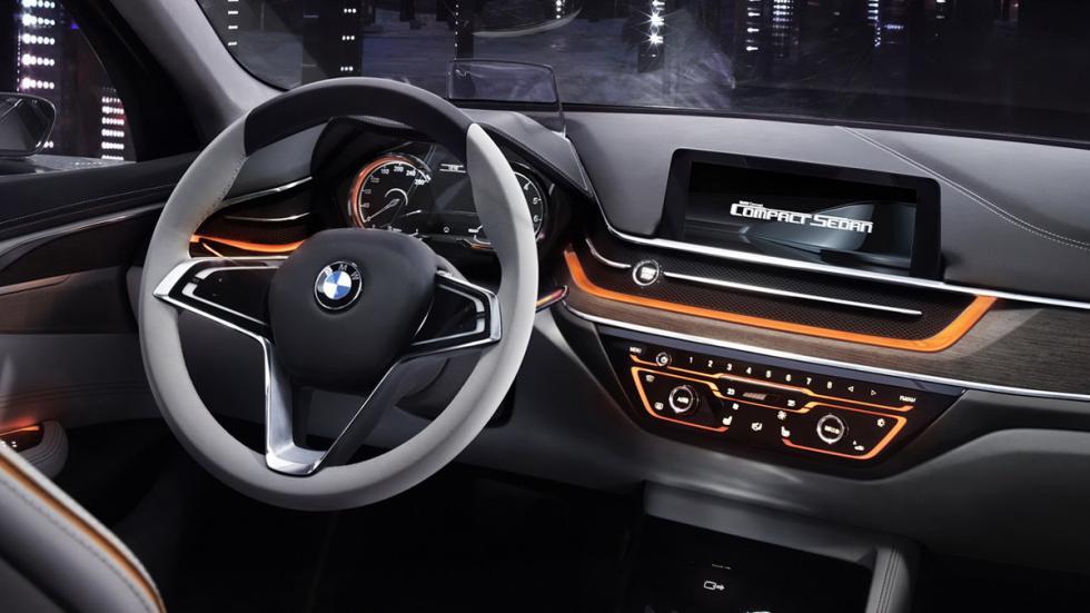 BMW Compact Sedan Concept salpicadero