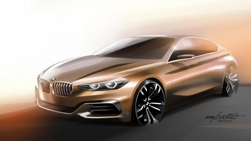 BMW Compact Sedan Concept dibujo