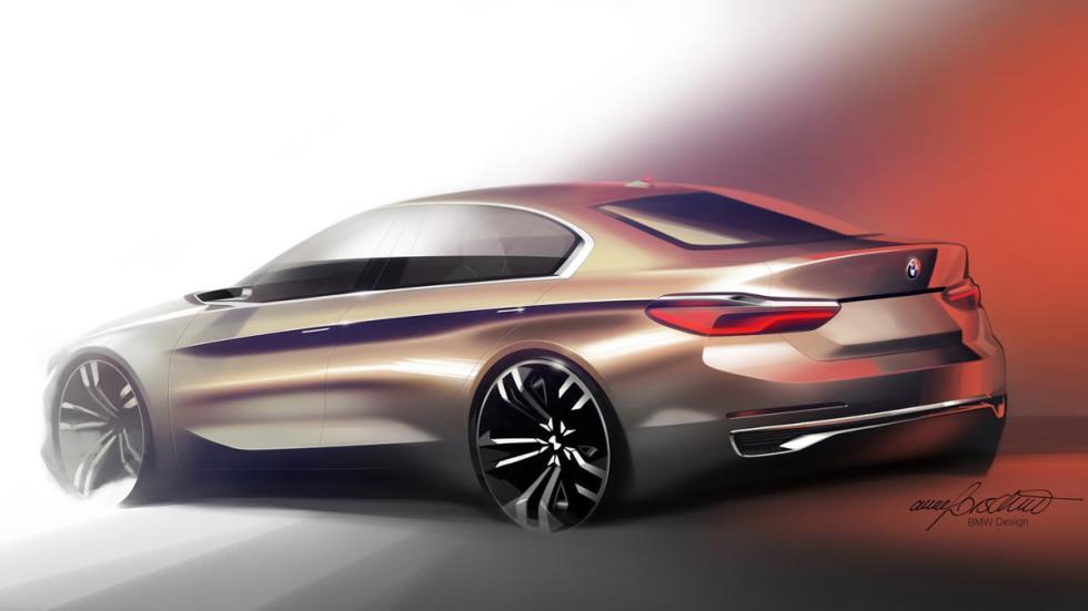 BMW Compact Sedan Concept diseño