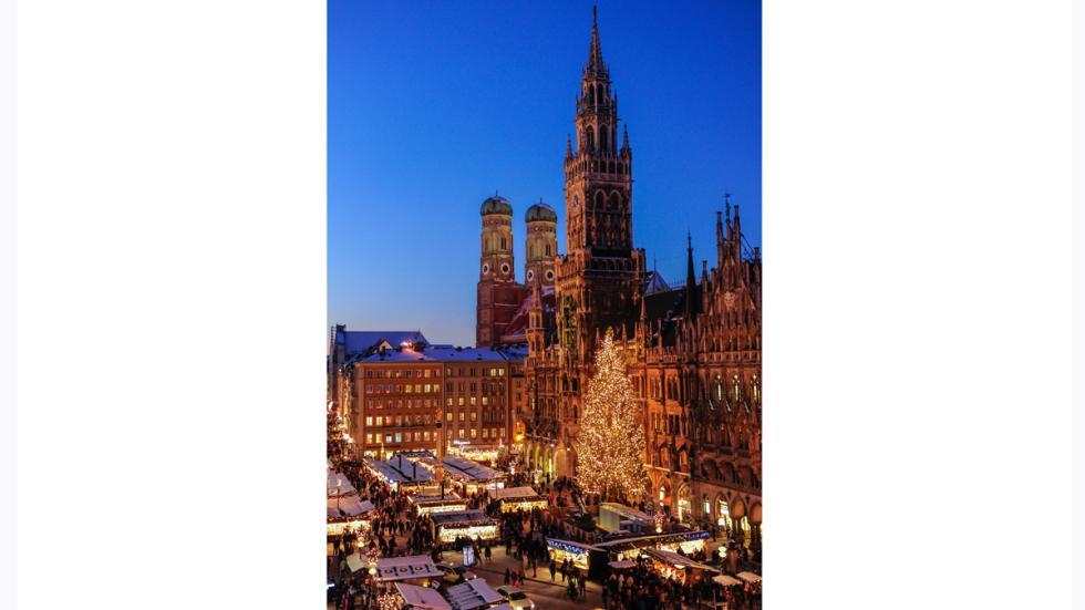 Mercado navideño de Múnich