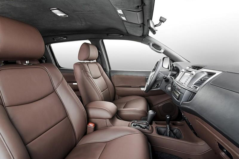 Toyota Hilux 6x6 interior by Overdrive
