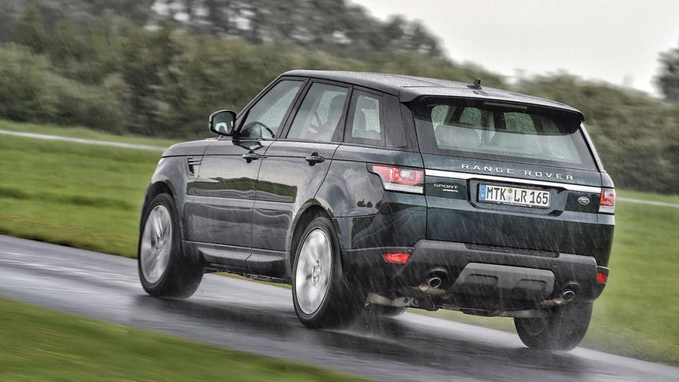 Comparativa SUV lujo range rover trasera