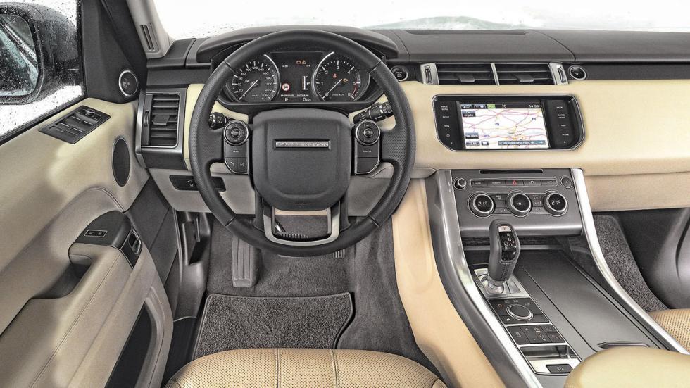 Comparativa SUV lujo range rover interior