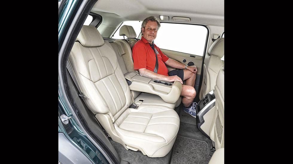 Comparativa SUV lujo range rover plazas traseras