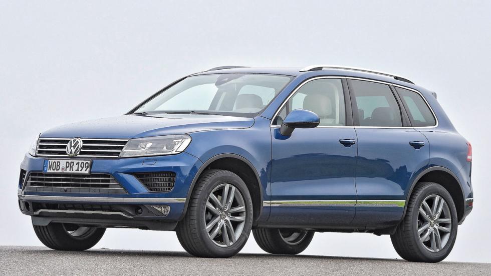 Comparativa SUV lujo Volkswagen Touareg