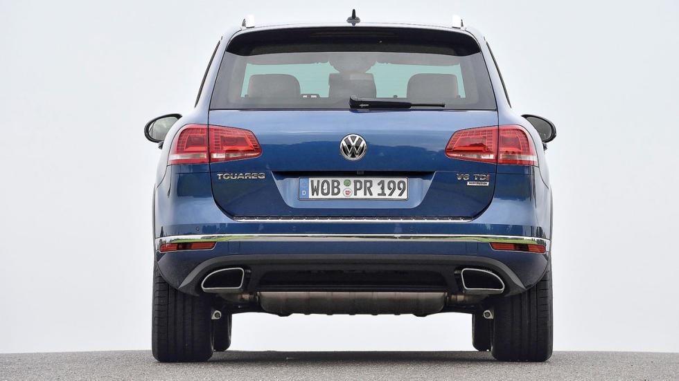 Comparativa SUV lujo Volkswagen Touareg trasera