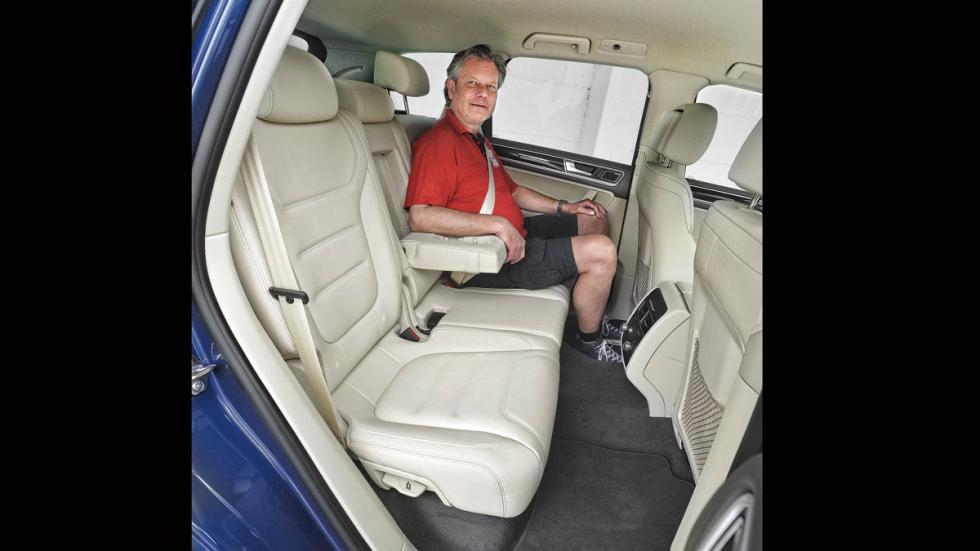 Comparativa SUV lujo Volkswagen Touareg plaza traseras