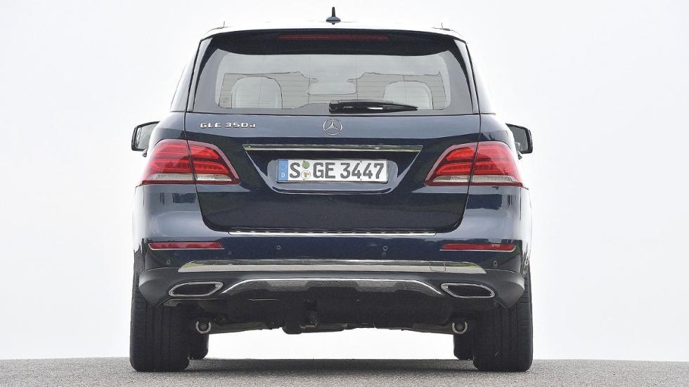 Comparativa SUV lujo Mercedes GLE trasera