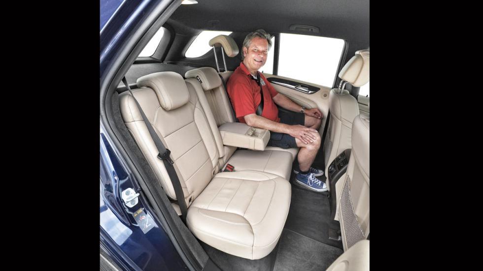 Comparativa SUV lujo Mercedes GLE plazas traseras