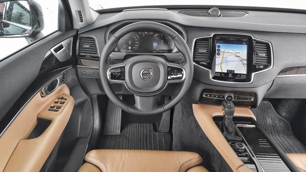 Comparativa SUV lujo Volvo XC90 interior