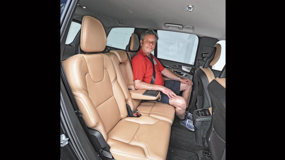 Comparativa SUV lujo Volvo XC90 plazas traseras