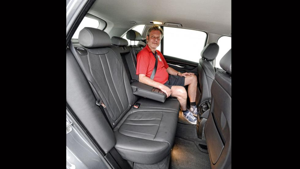 Comparativa SUV lujo BMW X5 plazas traseras