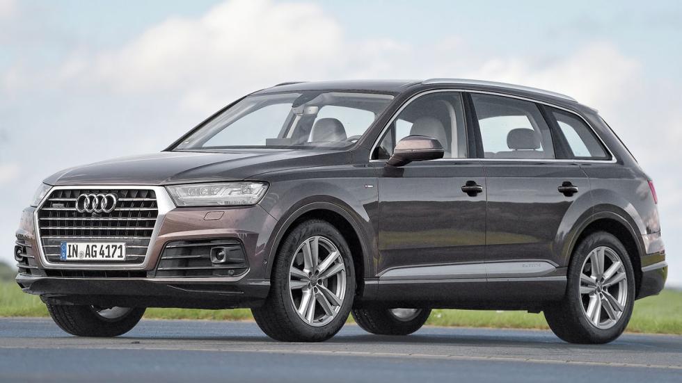 Comparativa SUV lujo Audi Q7