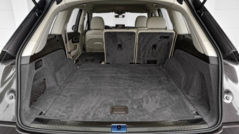 Comparativa SUV lujo Audi Q7 maletero
