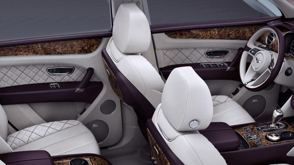 Bentley Bentayga First Edition interior