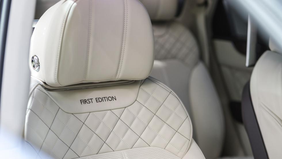 Bentley Bentayga First Edition asientos