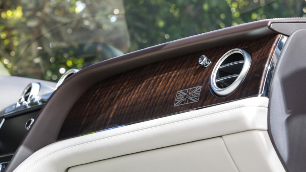 Bentley Bentayga First Edition inserciones