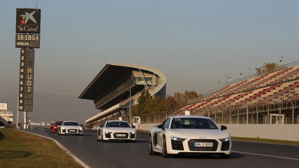 Audi Sportscar Driving Experience r8 blanco