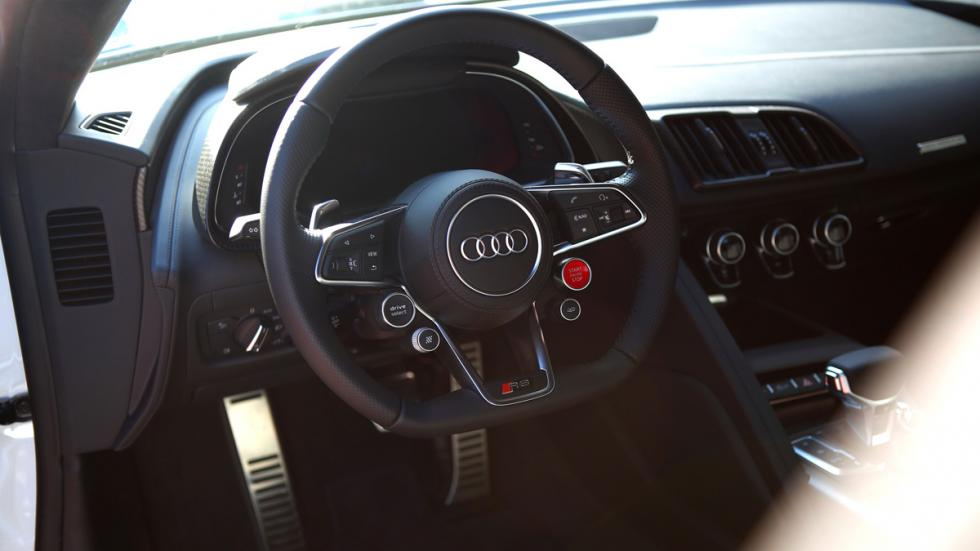 Audi Sportscar Driving Experience r8 interior