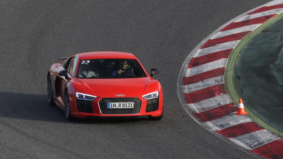 Audi Sportscar Driving Experience nuevo r8 rojo