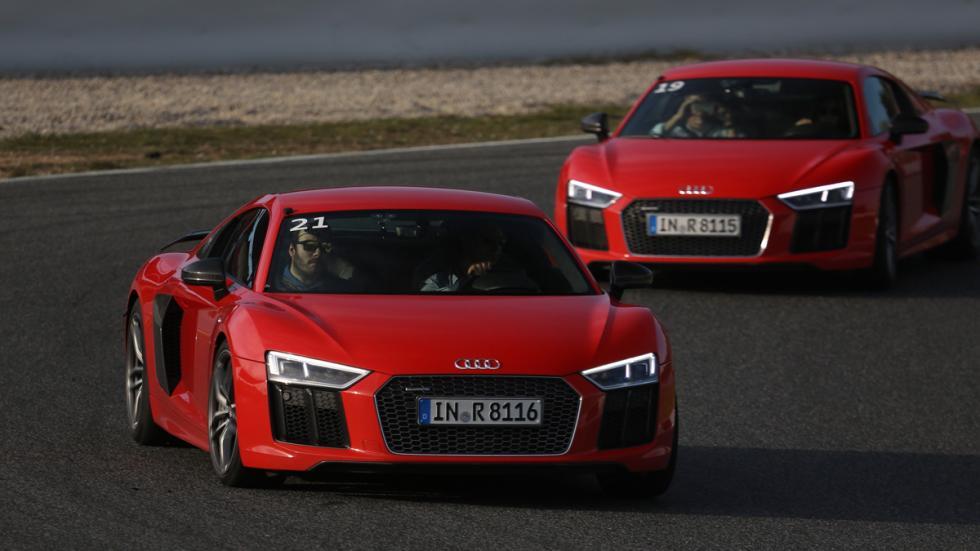 Audi Sportscar Driving Experience r8 rojo