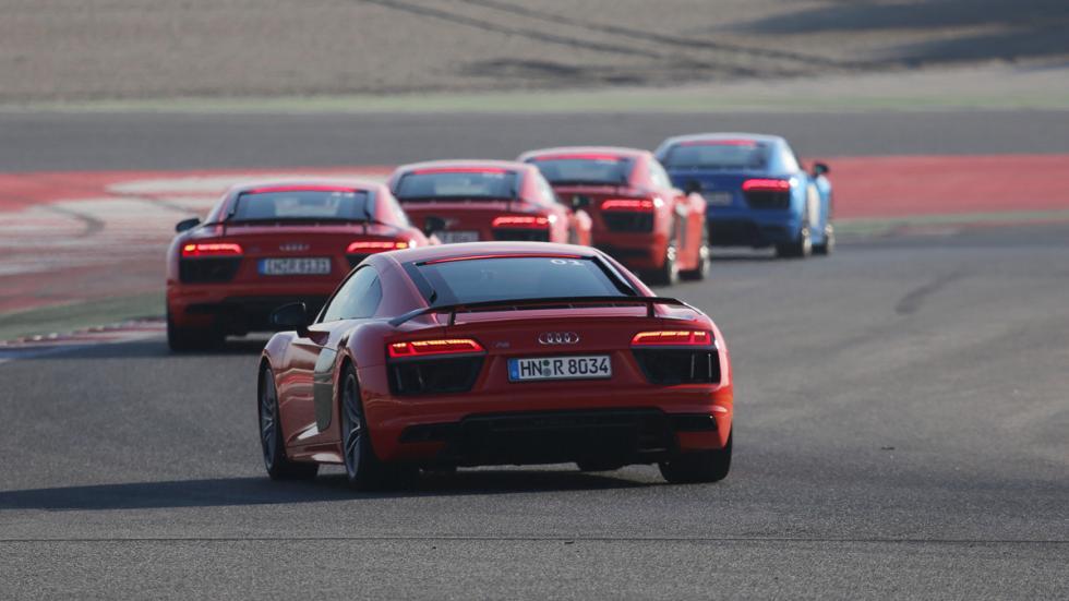 Audi Sportscar Driving Experience r8 nuevo trasera