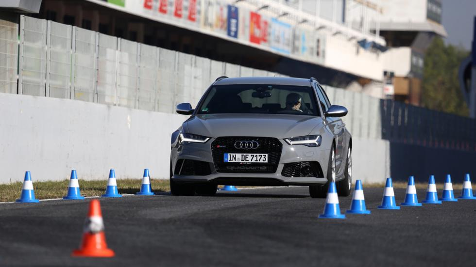 Audi Sportscar Driving Experience rs6 frenada