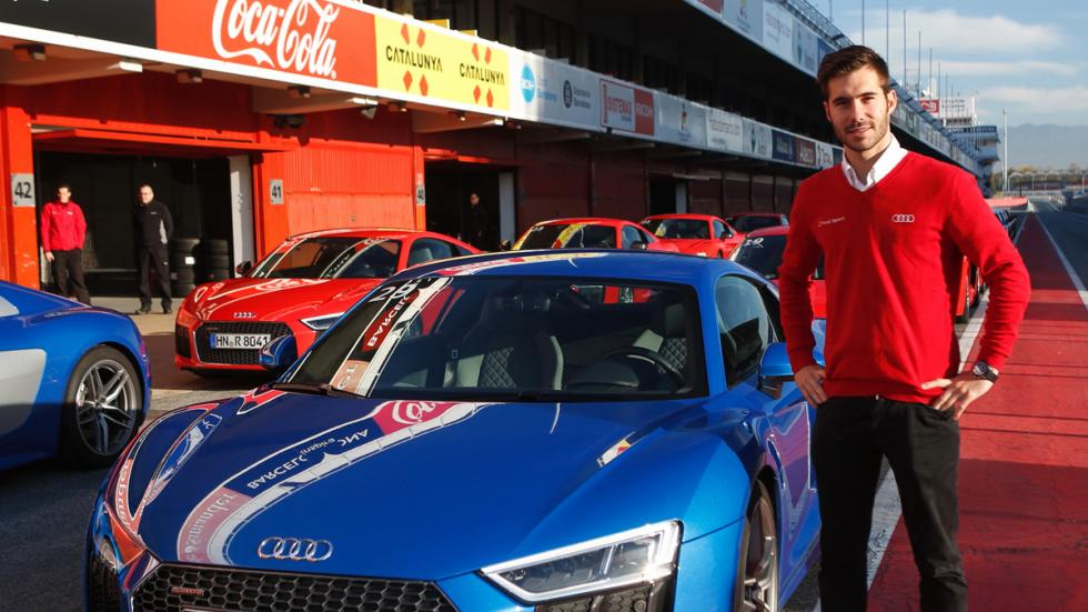 Audi Sportscar Driving Experience miguel molina