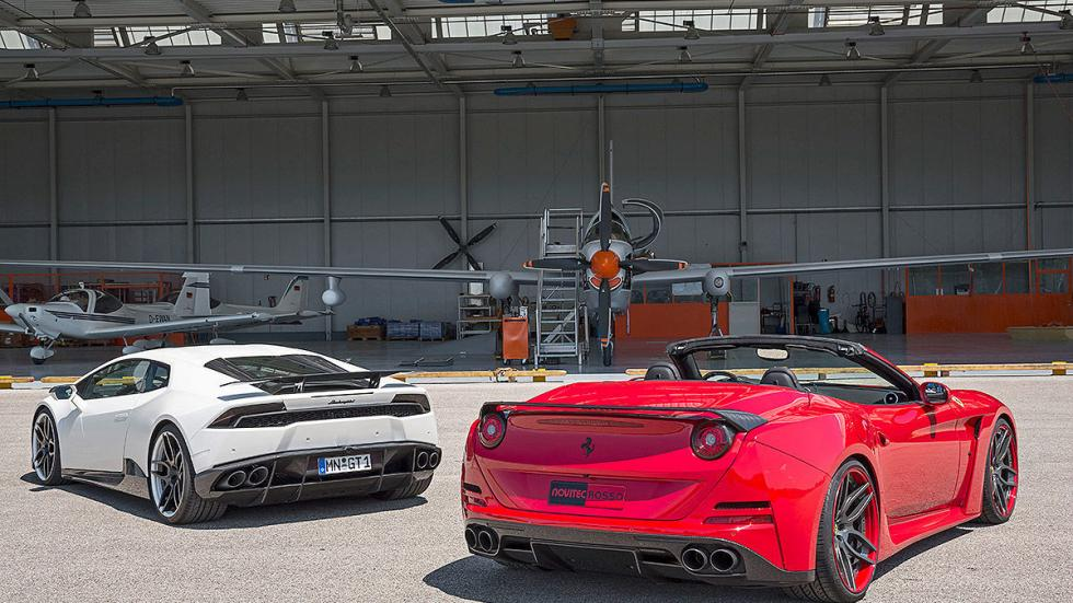 Novitec Ferrari California vs Novitec Lamborghini Huracán zagas
