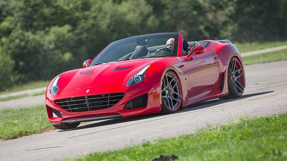 Novitec Ferrari California curva morro