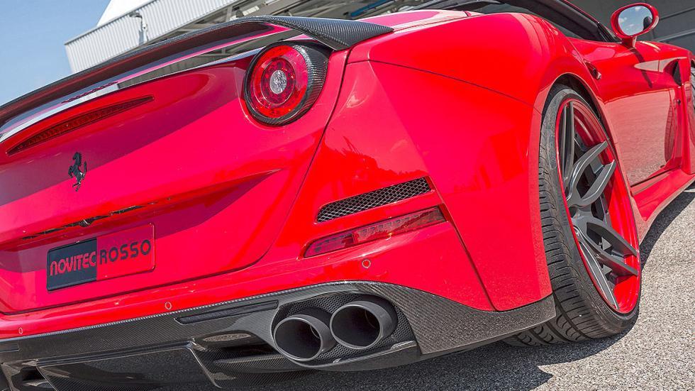 Novitec Ferrari California lateral piloto