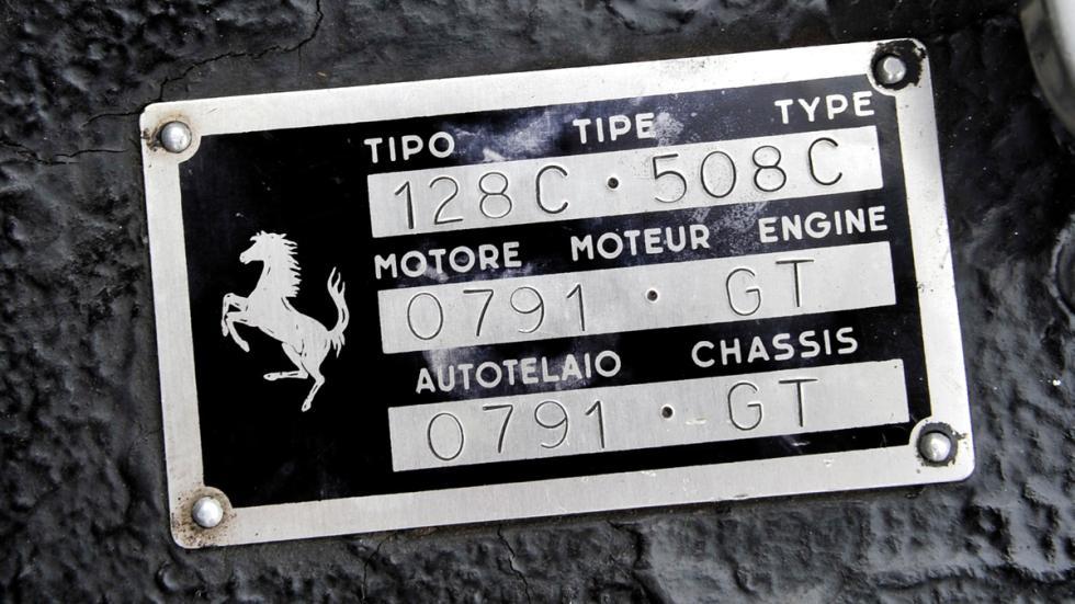 Ferrari 250 GT Cabriolet chasis