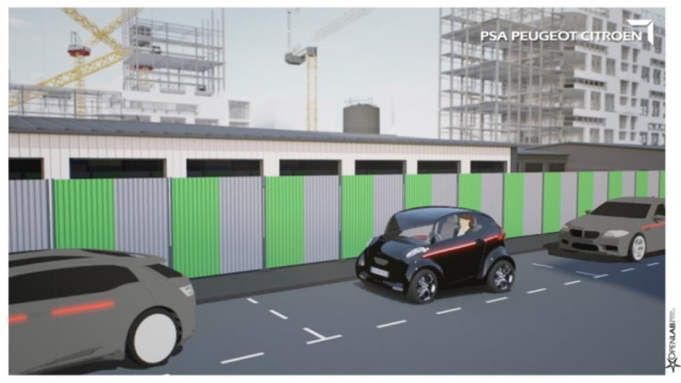 estacionamiento coche autónomo PSA