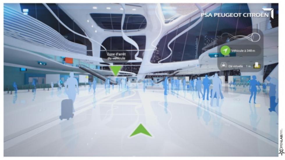conducción autónoma psa espacios publicos