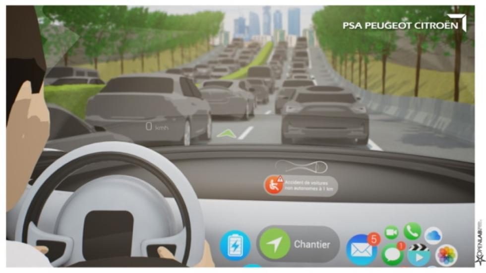 atascos conducción autónoma