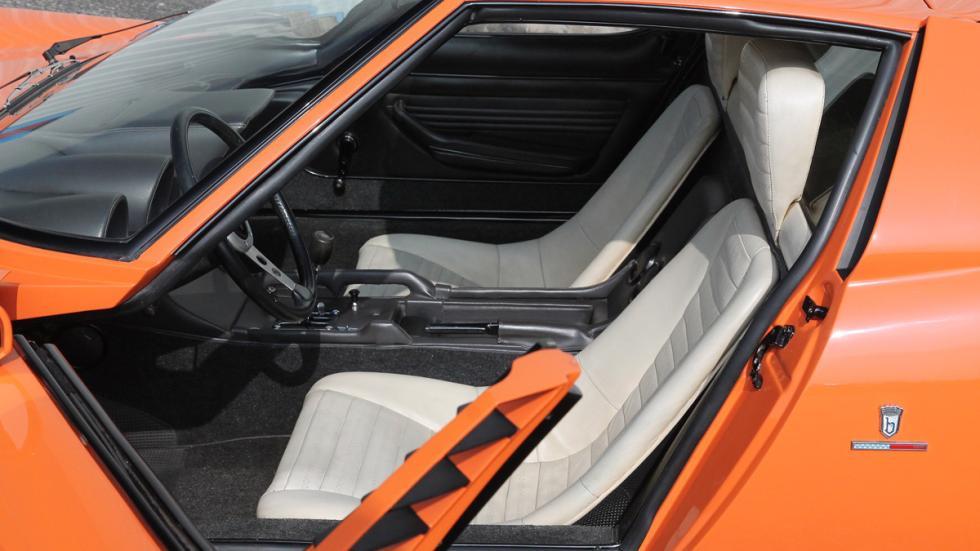 Lamborghini Miura Italian Job interior