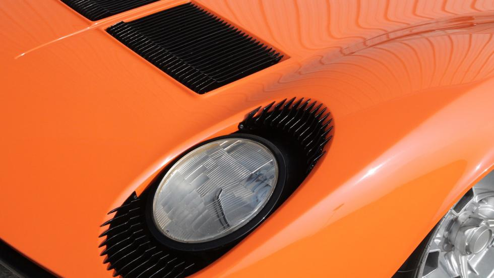 Lamborghini Miura Italian Job faros