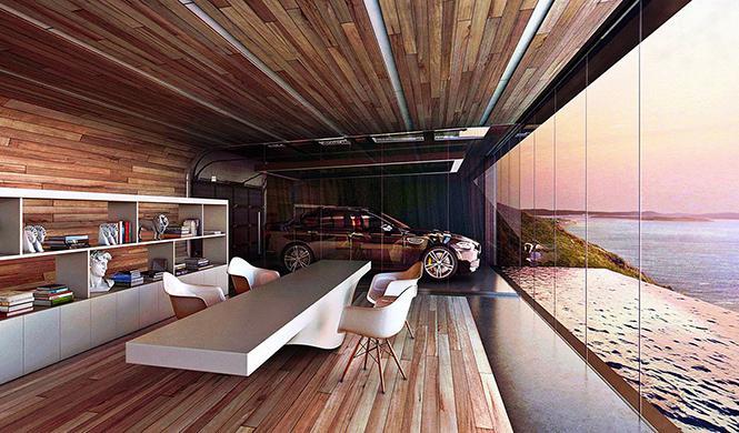 casa con garaje con vistas al mar 5