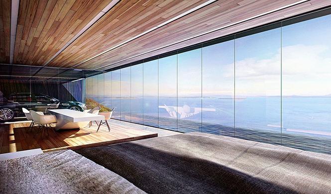 casa con garaje con vistas al mar 6