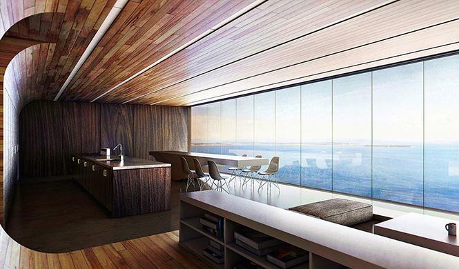 casa con garaje con vistas al mar 7