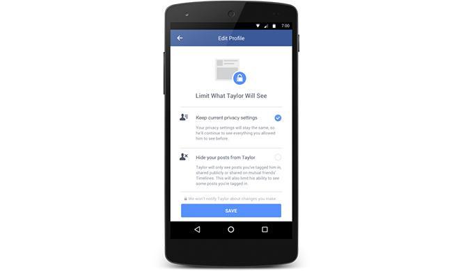 Evitar eliminar a tu ex en Facebook 3