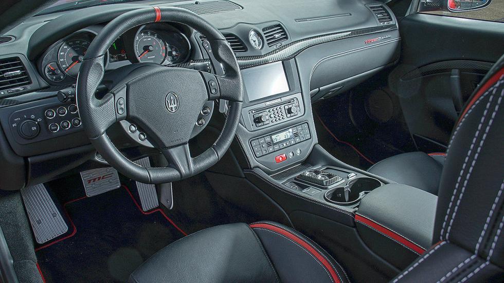 Maserati Gran Turismo interior